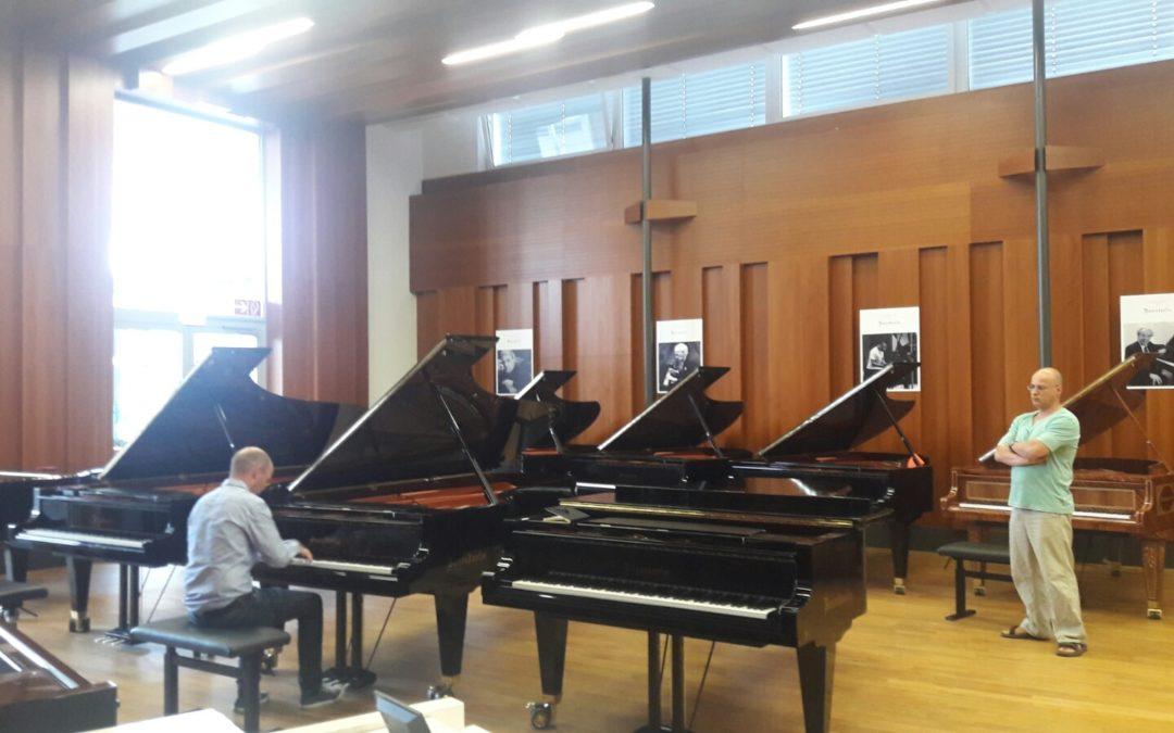 Bösendorfer 214 Vienna Concert. Nå på plass i våre lokaler for prøvespill!