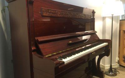 «Maud» – restaurert konsertpiano